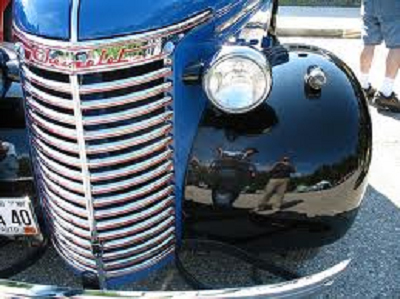 1940 Chevrolet Truck Grille - Chrome