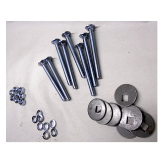 Bed To Frame Bolt Kit Zinc