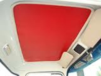 White Headliner Rubber