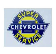 Chevy Sales and Service Decal
