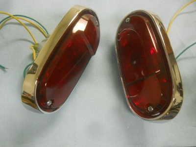 1957 Chevrolet GMC Panel Truck Taillight