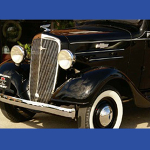 Grille 1936 High Polish Stainless Steel Complete
